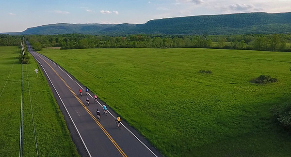 Bicycles on Gardner Road, Altamont, NY
