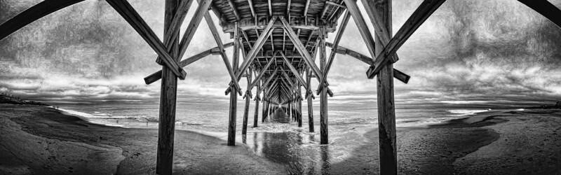 Fine Art Photo of Surf City Pier NC
