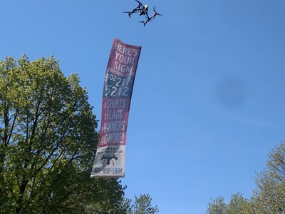 Drone Banner Advertising