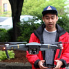 Lynn, Ma. 6-5-17. Koeun Neak and his drone.