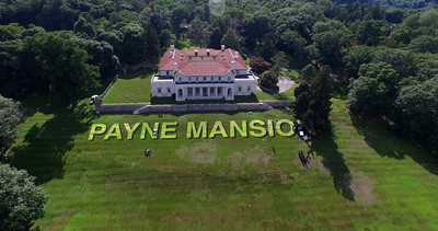 PAyne Mansion Drone Shoot