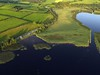 Views of the Black Lough off Lough Derg. The Skehanagh swimming area is off to the middle left. Tues 20.07.21