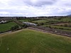 22009 passes near the village of Barraduff with the 1525 Mallow - Tralee. Sun 02..05.21