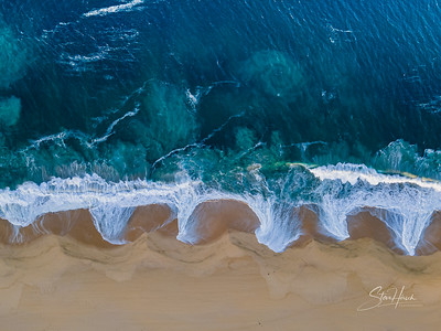 Nobu Beach drone