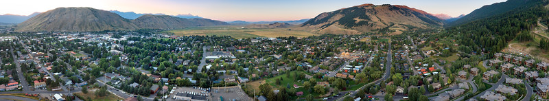 Jackson Wyoming Panorama
