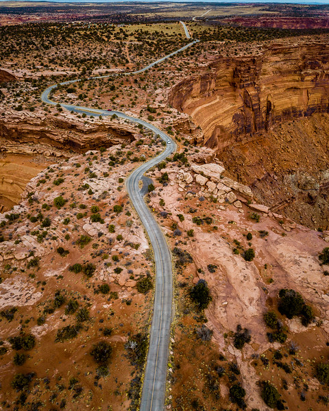 Aerial View Of Moab Utah | Drone Photography