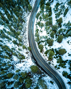 Frankieboy Photography |  Aerial Views Of Winter Wilderness | Drone Photography