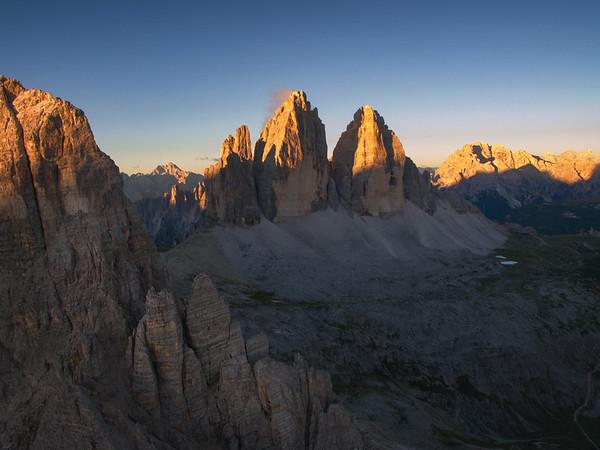 Italian Alps Drone Image