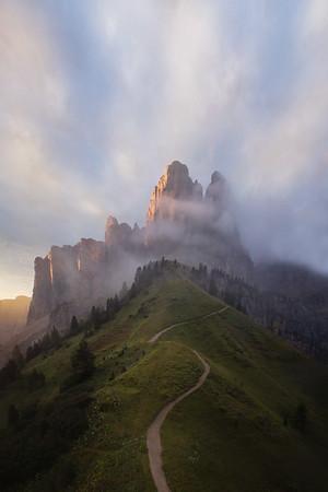 Italian Alps Aerial