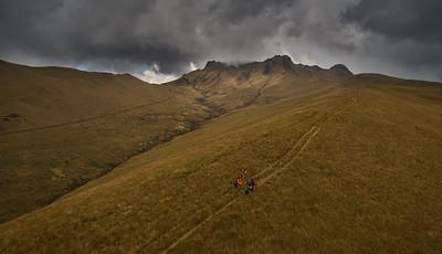 Hike up Pasachoa volcano