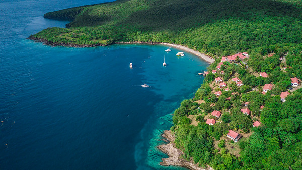 Aerial Photo of Ti Kay Resort in St. Lucia