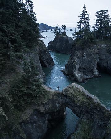 Oregon Coast Aerial