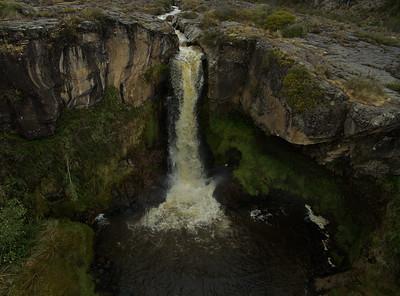 Rio Pita waterfall