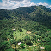 Aerial view of Bocawina Rainforest Resort in Belize