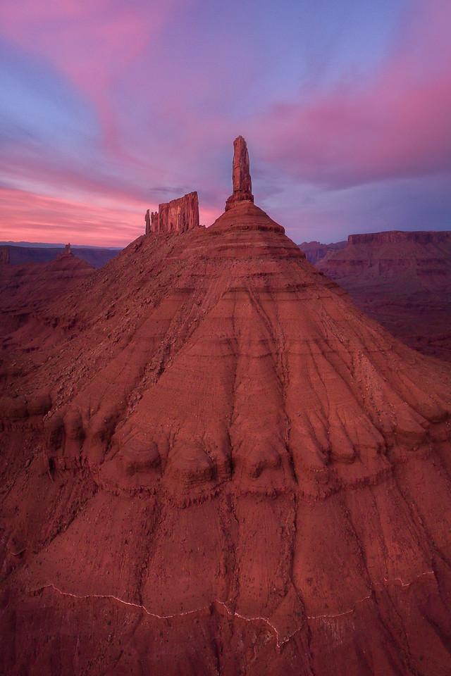 Moab Utah Drone Image