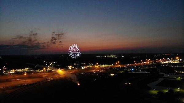 Fireworks at GA National Fairground
