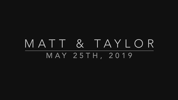 Matt & Taylor