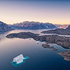 Morning Flight above the Bear Islands