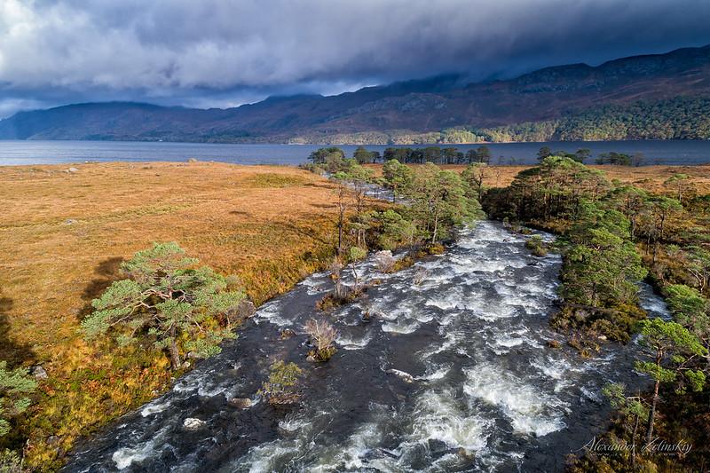 River Grudie (Loch Maree)