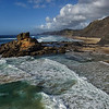 Morning tide at Castelejo Beach