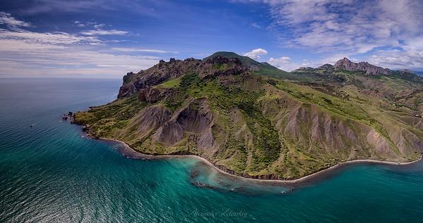 The Green Island of Karadag