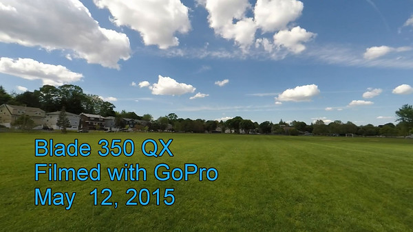 Blade 350QX filmed by GoPro