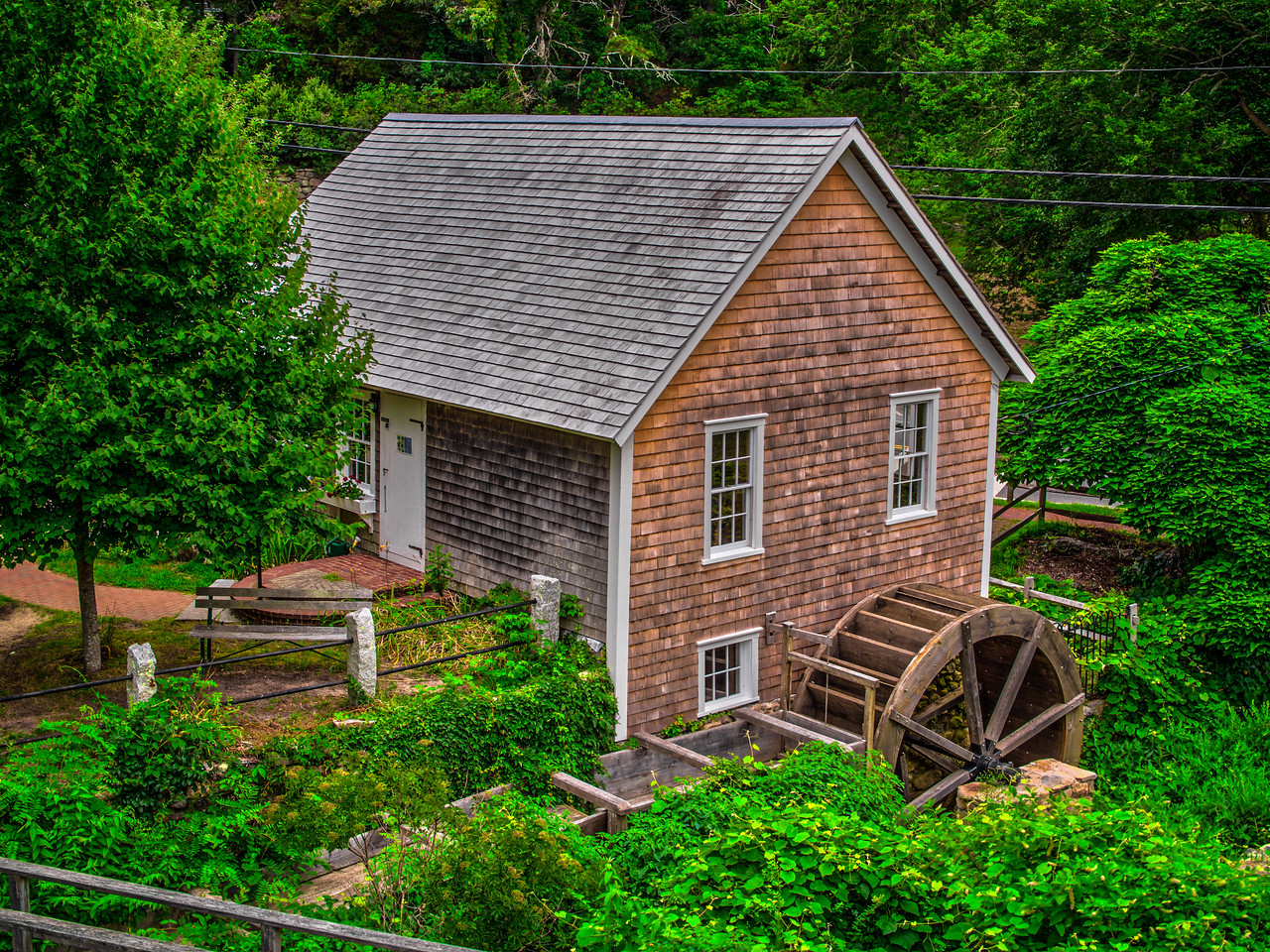 Grist Mill Cape Cod--3