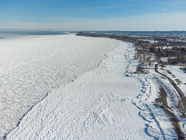 Lake Ontario: February 15th, 2021