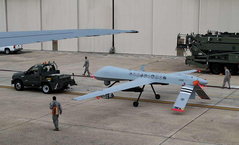 MQ-9 Reaper - Joint Base McGuire