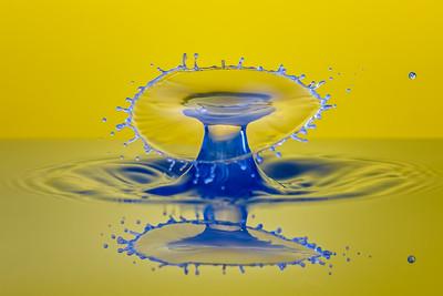 Blue Drop Collision