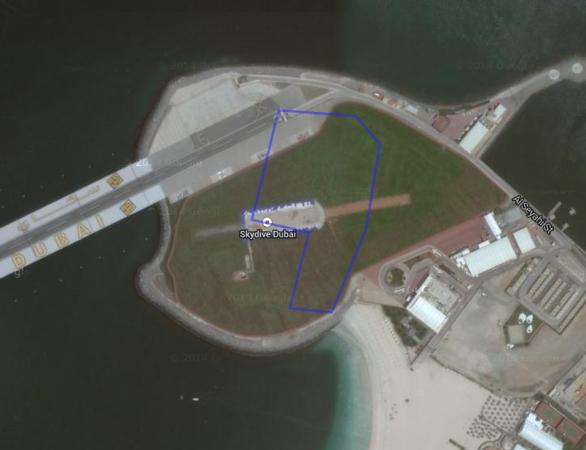 Skydive Dubai.