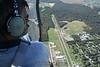 John Eddowes flying the Alouette 2 over Cross Keys. 10/14/06