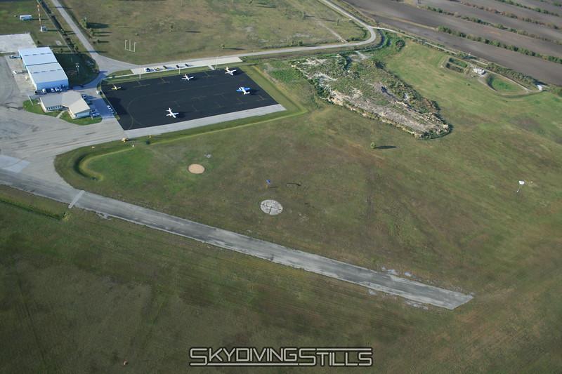 Clewiston's landing area. 1/19/08