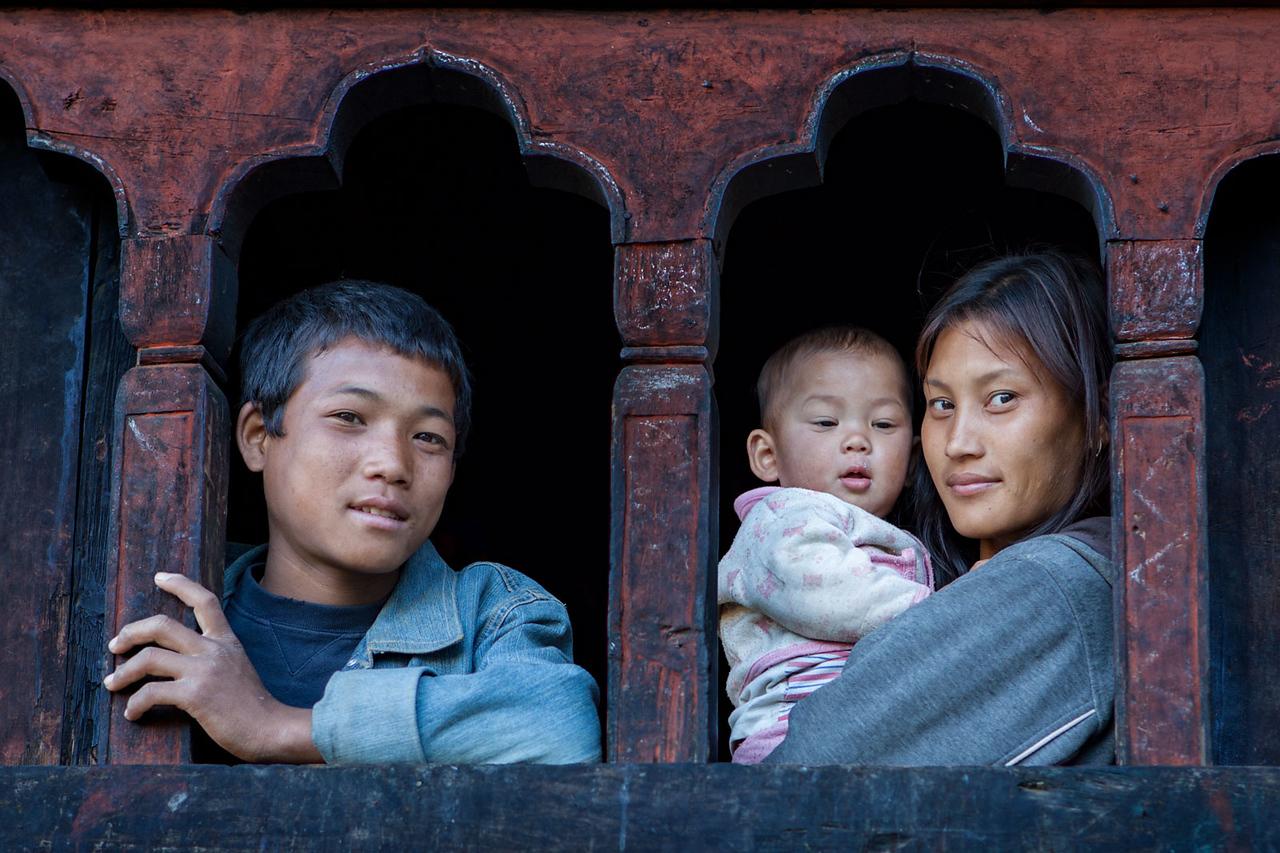 Rinchengang village.