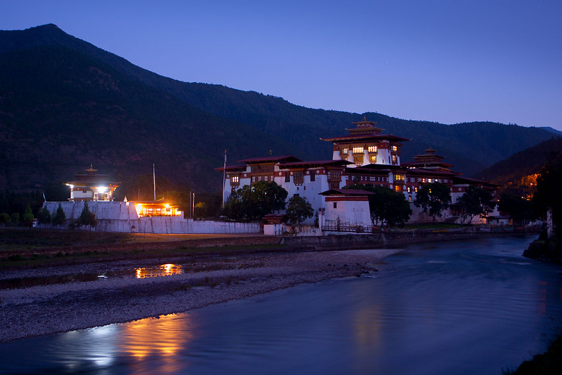 Punakha Dzong.