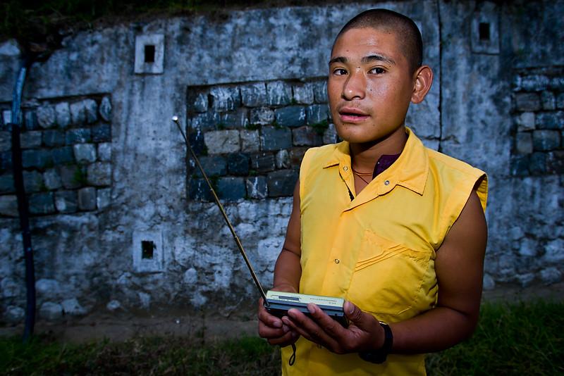 Young monk. Rangjung Wodsel Chooling Monestary.