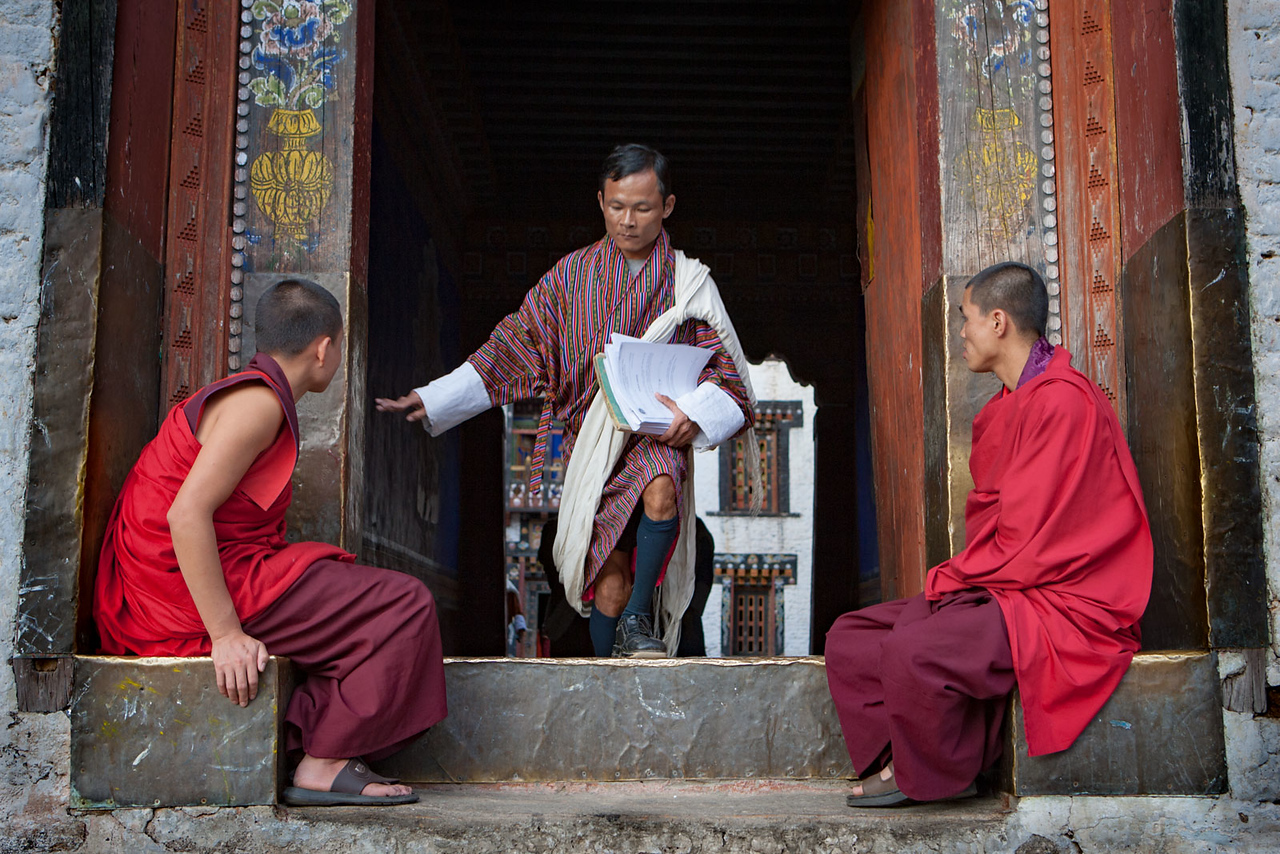 Trashigang Dzong.