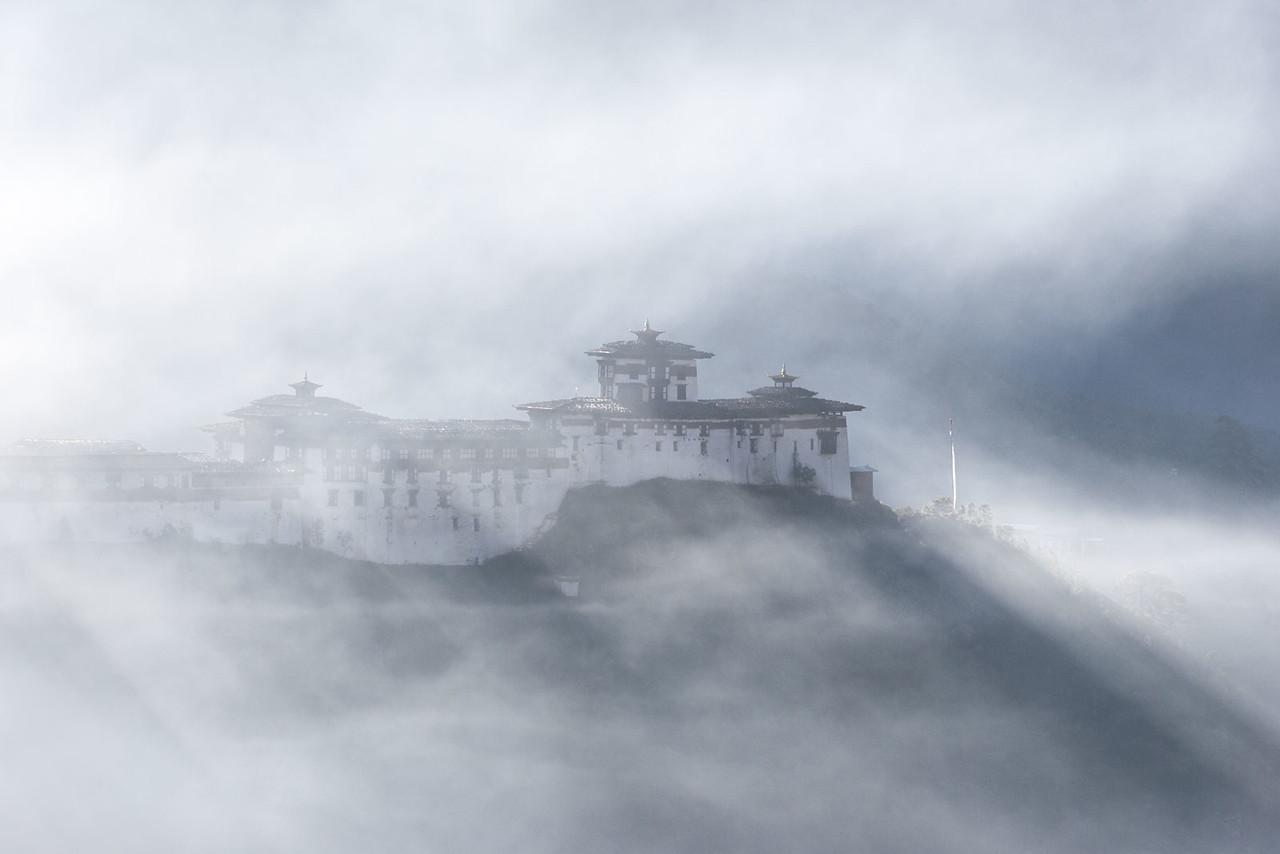 Wangdi Phodrang Dzong.