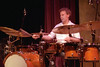 Bill Bruford performing at Yoshi's in Oakland, CA in 2001.