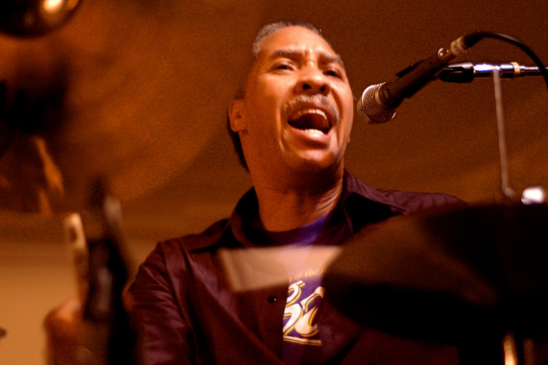 Zigaboo Modeliste performing at the San Francisco Jazz Festival on October 23, 2002.