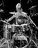 Stewart Copeland performs with The Police at the Warfield Theater in San Francisco on November 24, 1979.