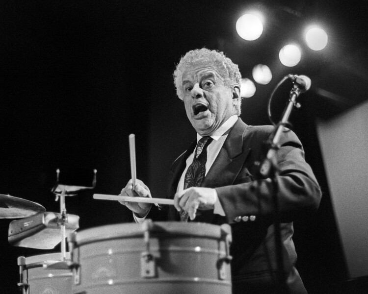 Tito Puente performing at Kimball's East in Emeryville, CA in 1993.