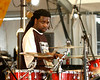 Eddie Christmas, playing on the Acura Stage with the Wild Magnolias at Jazzfest 2006.