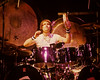 Carl Palmer performs with Asia at the Warfield Theater in San Francisco on May 22, 1982.