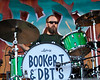 Brad Morgan performing with Booker T. & Drive-By Truckers at the New Orleans Jazz & Heritage Festival on April 24, 2009.