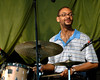 Jason Marsalis plays with the Ellis Marsalis Quartet at Jazzfest 2006.