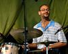 Jason Marsalis plays with the Ellis Marsalis Quartet at Jazzfest 2006.