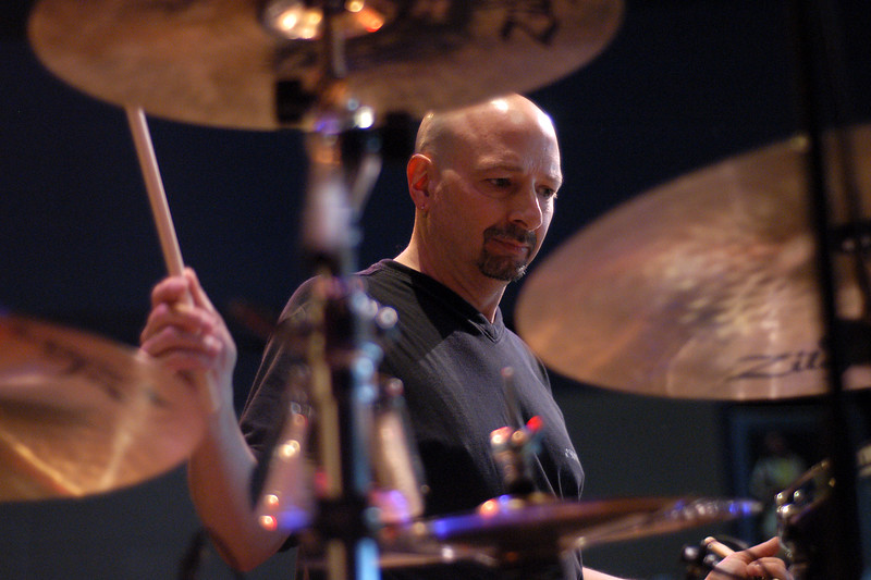 Steve Smith performs with Vital Information at Yoshi's Nightspot in Oakland on March 12, 2003