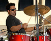 Eric Bolivar with Anders Osborne at Jazzfest 2006. Eric also played with Bonerama and Kirk Joseph's Backyard Groove.