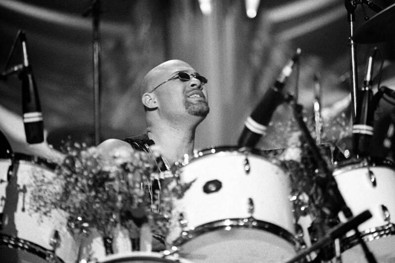 Narada Michael Walden performs at the BAMMIES (Bay Area Music Awards) on March 5, 1994